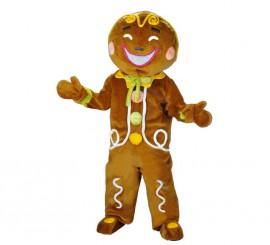 Disfraz Mascota Muñeco Galleta de Jengibre para adultos