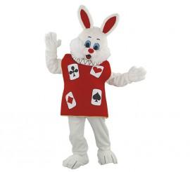 Disfraz Mascota Conejo de la Suerte para adultos