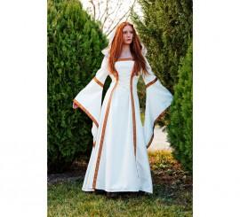 Disfraz Medieval Beige Elenea para Mujer varias Tallas