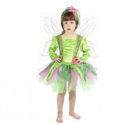 Disfraz Ninfa del Bosque para niña