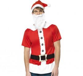 Disfraz o Kit de Papá Noel para hombre