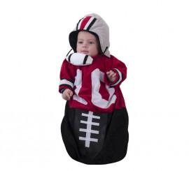 Disfraz o saquito de fútbol americano para bebés en varias tallas