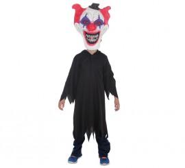 Disfraz o Túnica negra de Halloween para niño