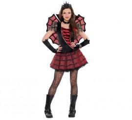 Disfraz Princesa araña para niñas y adolescentes Halloween