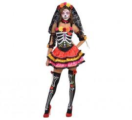 Disfraz Señorita Catrina para mujeres para Halloween