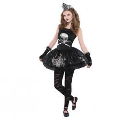 Disfraz Zombierina para adolescentes para Halloween