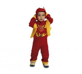 Disfraz Diablillo Rojo para Bebé para Halloween