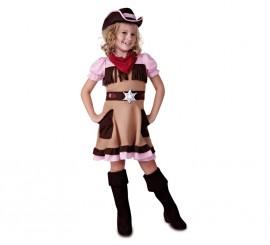 Disfraz de Cowgirl o Vaquera para niña