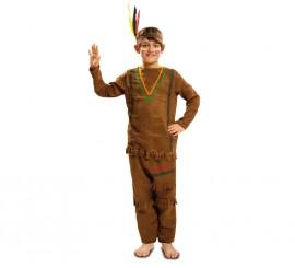 Disfraz de Indio con Pantalones para Niño