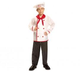 Disfraz de Cocinero Chef para Niño en varias tallas