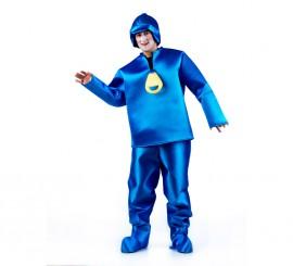 Disfraz de Niño Azul para adultos