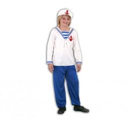Disfraz de Marinero para niño de 5 a 6 años