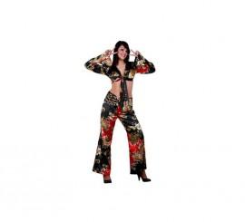 Disfraz de Hippie para mujer. Talla M-L