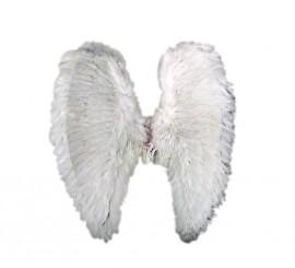 Alas de Angel de plumas blancas de 54x50 cms.