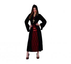 Disfraz de Monja Siniestra para mujer talla M-L