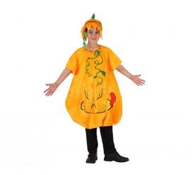 Disfraz de Calabaza para niños