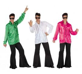 Disfraz de Chico de la Disco para hombre talla M-L