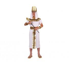Disfraz de Faraón para niños en varias tallas