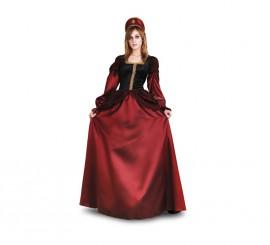 Disfraz de Princesa Medieval para mujer talla M-L