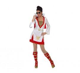 Disfraz Estrella del Rock para mujer
