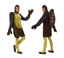 Disfraz de Tortuga para hombre talla M-L