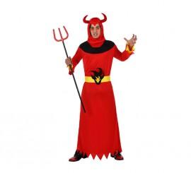 Disfraz de Demonio llamas para hombre en varias tallas