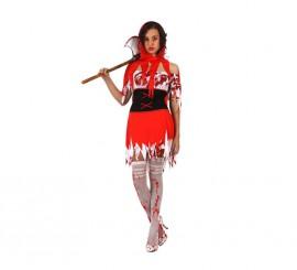 Disfraz de Caperucita Sangrienta mujer