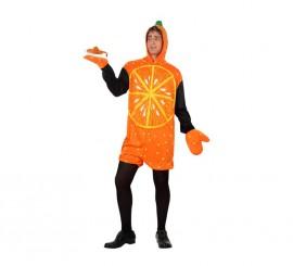 Disfraz de Naranja para hombre talla M-L