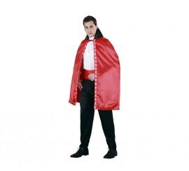Capa Vampiro roja adultos para Halloween