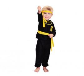 Disfraz barato de Ninja para niños de 1 a 2 años