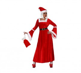 Disfraz de Mama Noel para mujer talla M-L