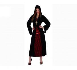Disfraz de Monja Siniestra para mujer talla XL