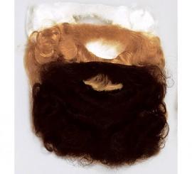 Barba de Rey pequeña de color negro para niño