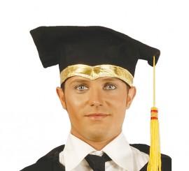 Sombrero de Estudiante de tela para adultos