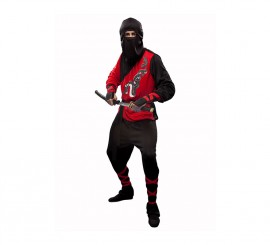 Disfraz de Dragón Ninja para hombre talla M-L