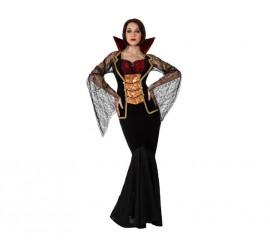Disfraz de Vampiresa Lujo para mujer en varias tallas
