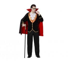 Disfraz de Vampiro Lujo para hombre en varias tallas