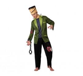 Disfraz de Monstruo Franky para hombre