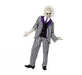 Disfraz de Fantasma rayas para hombre en varias tallas
