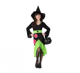 Disfraz de Bruja araña para niñas