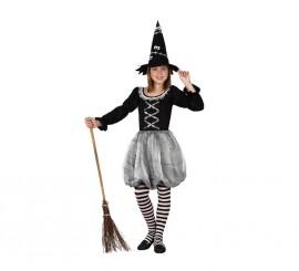 Disfraz de Bruja Gris para niñas