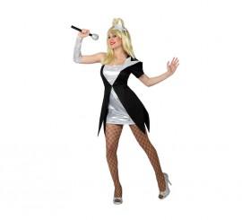 Disfraz de Cantante del Pop para mujer