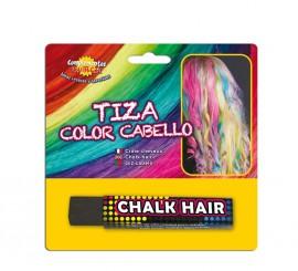 Blister Barra de Tiza para el pelo de color Negro