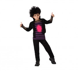 Disfraz de Punky para Niño