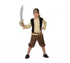Disfraz para niños de Pirata Calavera