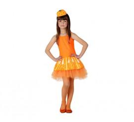 Disfraz de Naranja para Niña