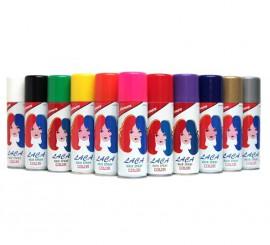 Spray Laca Fluorescente cabello de color azul