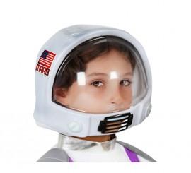 Casco de Astronauta infantil de 20x16 cm