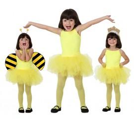 Disfraz de Bailarina Amarillo para Niña