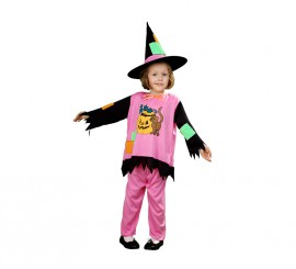 Disfraz de Brujita para niña de 1-2 años Halloween